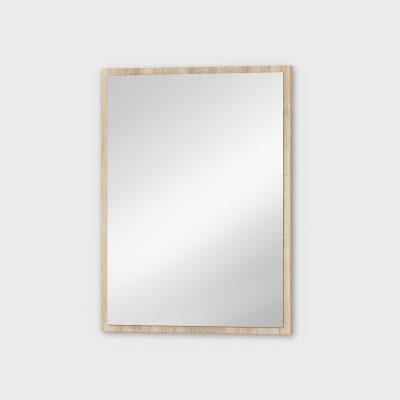 Зеркало навесное тонкая рамка