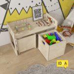 Д-36 столик детский