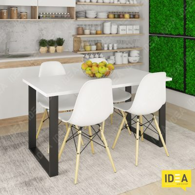 Столы Loft ЛДСП 1400 Белый IDEA